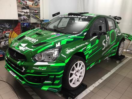 Shore Rally Team aposta no Mitsubishi Mirage Proto em 2021