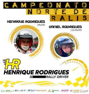 "Nova ""Equipa HR Rallydriver"" apresenta-se para o Campeonato Norte de Ralis 2021"