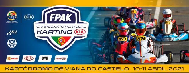 Campeonato de Portugal de Karting KIA arranca este fim de semana em Viana do Castelo