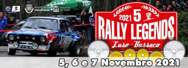 Rally Legends Luso-Bussaco na estrada dias 5,6 e 7 Novembro