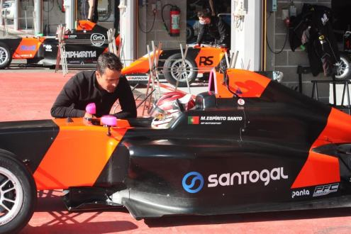 Manuel Espirito Santo na Formula 4 Espanhola