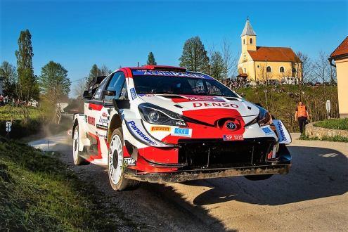 WRC: Croatia Rally 2021: Ogier lidera, Evans e Neuvile à espreita