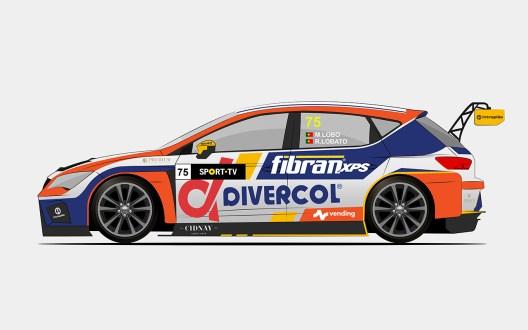 Miguel Lobo e Rafael Lobato formam equipa no  Campeonato de Portugal de Velocidade Turismos