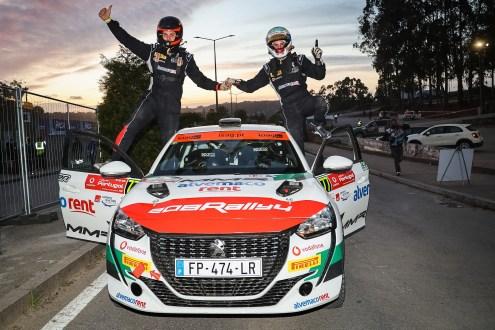ALEJANDRO CACHÓN / 'JANDRIN' VENCEM JORNADA LUSA DO WRC DA PEUGEOT RALLY CUP IBÉRICA