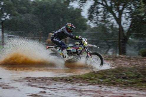 Bruno Santos no arranque do CNTT Road to Dakar