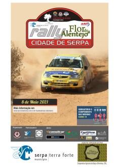 Rali Cidade de Serpa/Flor do Alentejo vai para a estrada a 08 de Maio