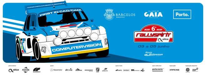 RallySpirit Altice arranca amanhã em Barcelos