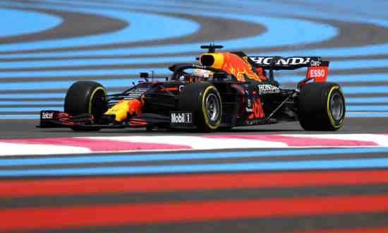 Max Verstappen vence na França