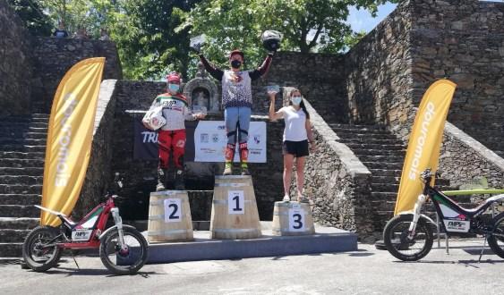 Mariana Afonso consegue duplo pódio na  abertura do Campeonato Nacional de Trial
