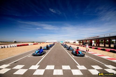 Kartódromo de Castelo Branco recebe 48 pilotos para Troféu de sucesso!