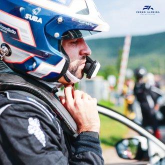 Pedro Almeida de Hyundai R5 no Rali Vidreiro