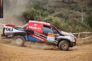 Fernando Barreiros no Rally de Cuenca
