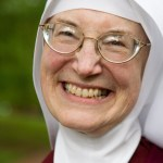 Reverend Mother Marietta is very happy with the Sisters' new home in Benton.