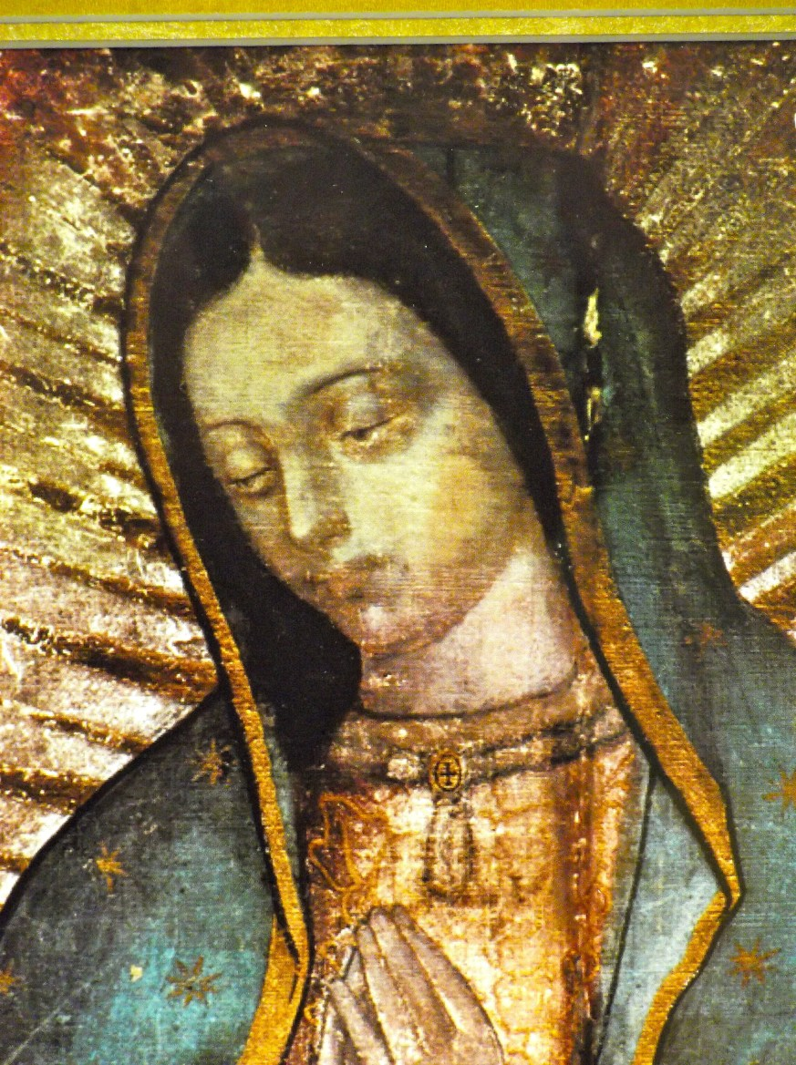 The beautiful face of Our Lady