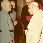 Father meets with Saint John XXIII in March 1961.