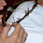 Crown of Thorns worn at Final Profession