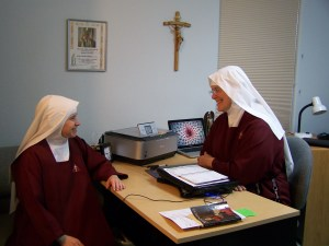 Counseling and working together in Christ.