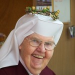 On her Golden Jubilee of Vows in 2008.
