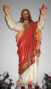 Full size Sacred Heart