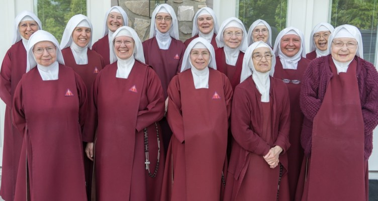 First ever since 1947 with all the nuns in one place. Photo by Scott Maentz.