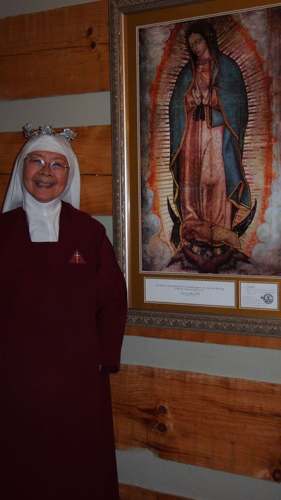 Sister Guadalupe D'Emmanuel of the Holy Trinity on her Silver Jubilee