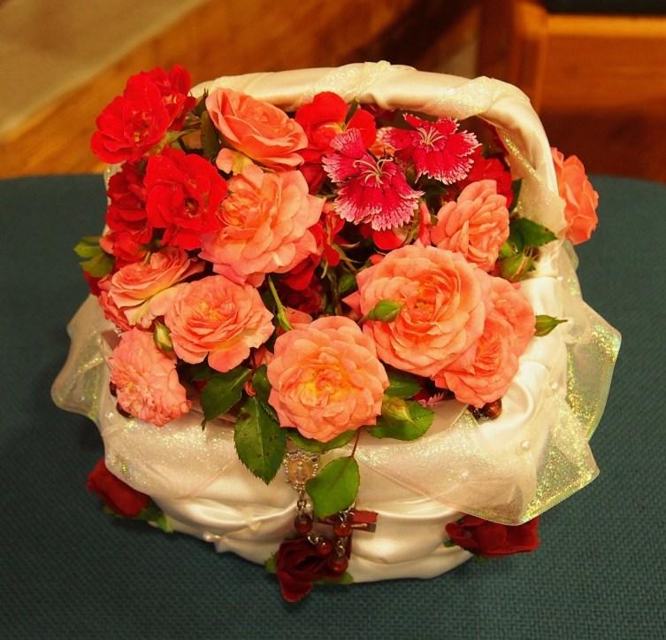 Bursting with full, fragrant blossoms