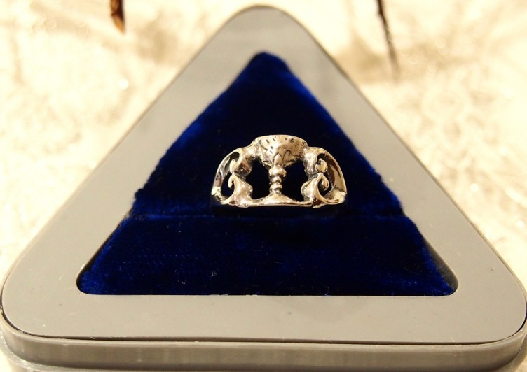 Ring of a Solemnly Professed Handmaid of the Precious Blood
