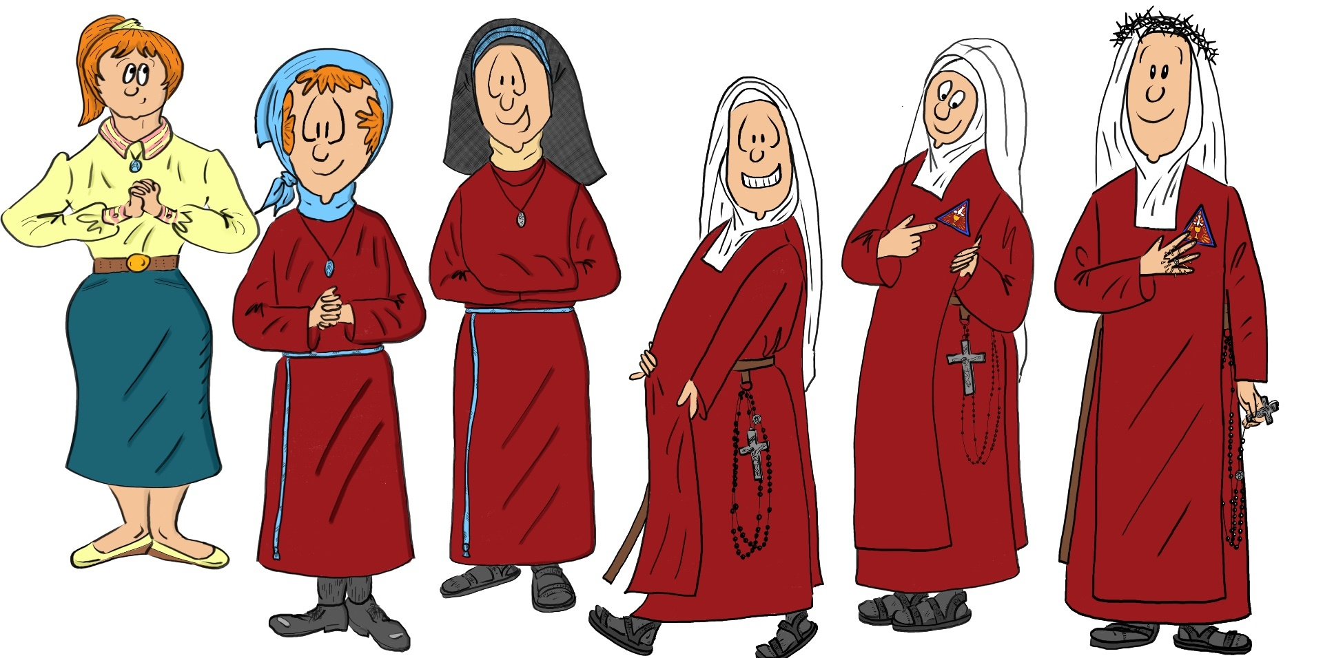 Steps - How Does One Become A Nun? - Handmaids