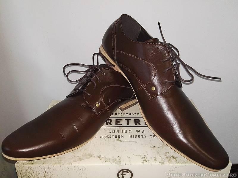 #Oferta | Pantofi eleganti marime mare (47) pentru barbati