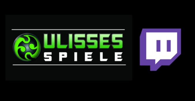Ulisses Spiele auf Twitch