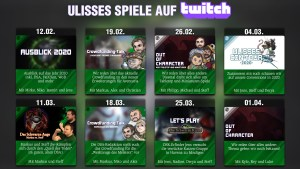 Ulisses Twitch Stream