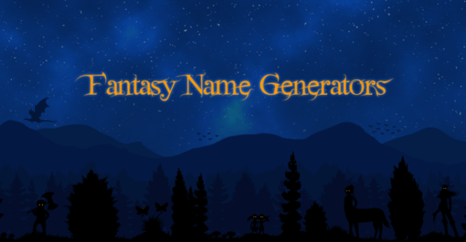 Fantasy Name Generators Kopfgrafik