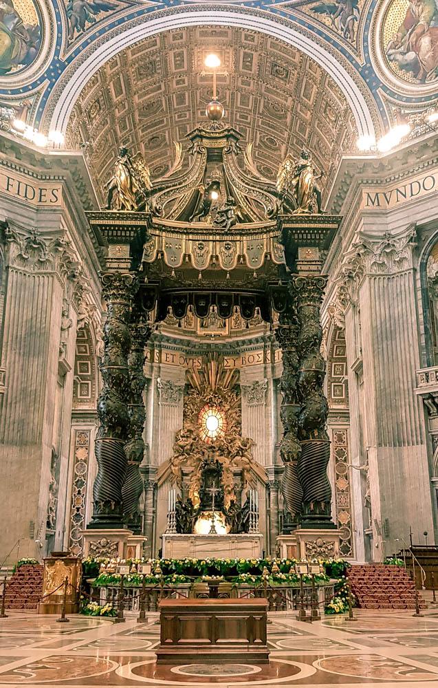 Basílica de São Pedro | O que fazer em Roma