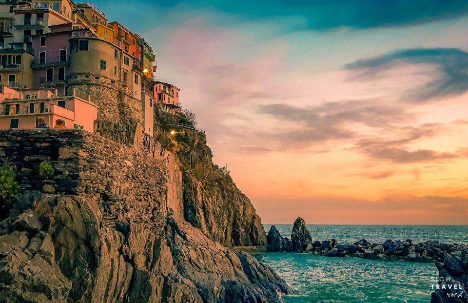 Pôr-do-sol em Manarola | O que fazer em Cinque Terre