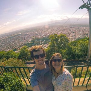 Topo do Cerro San Bernardo | O que fazer em Salta Argentina