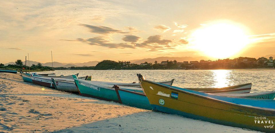 Pôr-do-sol da Praia da Guarda do Embaú