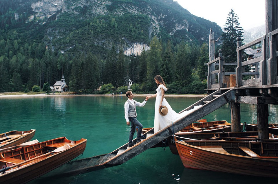 Elopement Wedding | Lago di Braies,Dolomitas