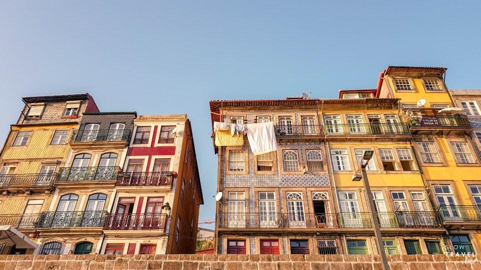 Arquitetura do Cais da Ribeira // O que fazer no Porto
