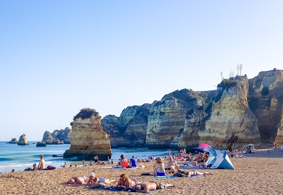 Praia Dona Ana // Melhores Praias do Algarve