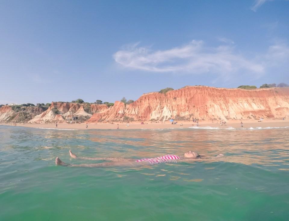 Praia da Falésia // Melhores praias do Algarve