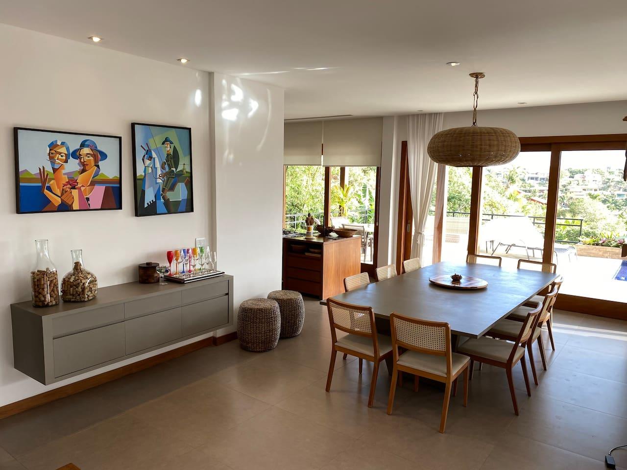Airbnb em Búzios / Casa com vista em Geribá