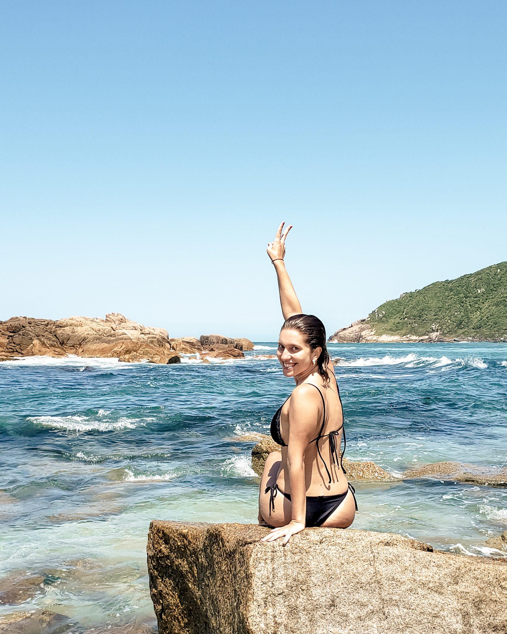 O que fazer na Praia do Rosa / Piscinas Naturais da Juliana