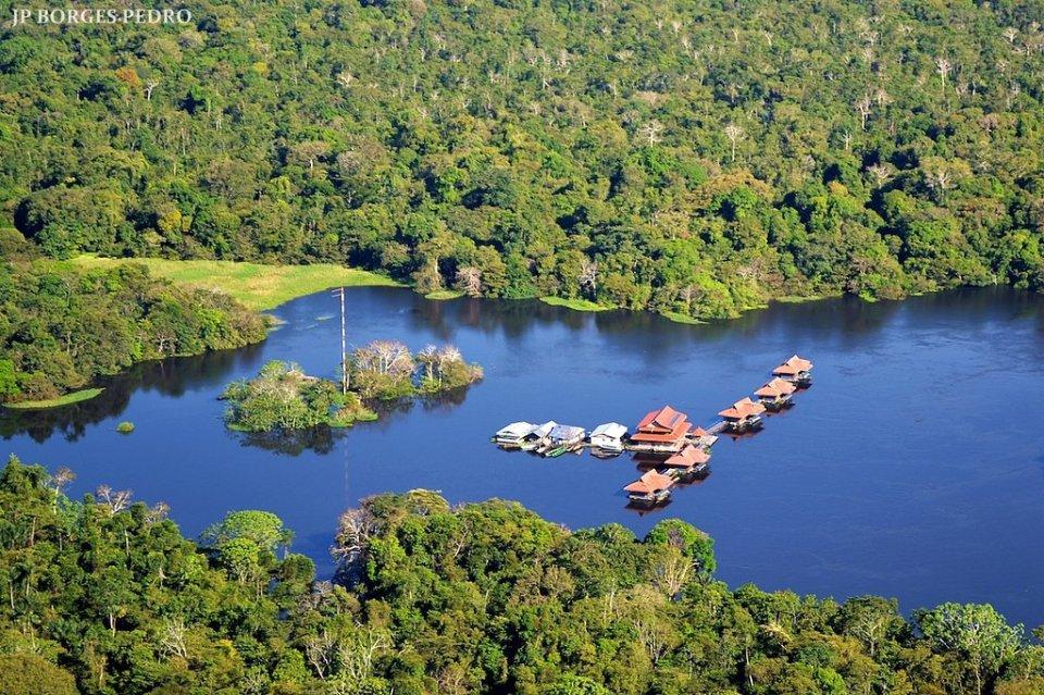 Para onde viajar em 2021 no Brasil / Amazonia, Pousada Uacari