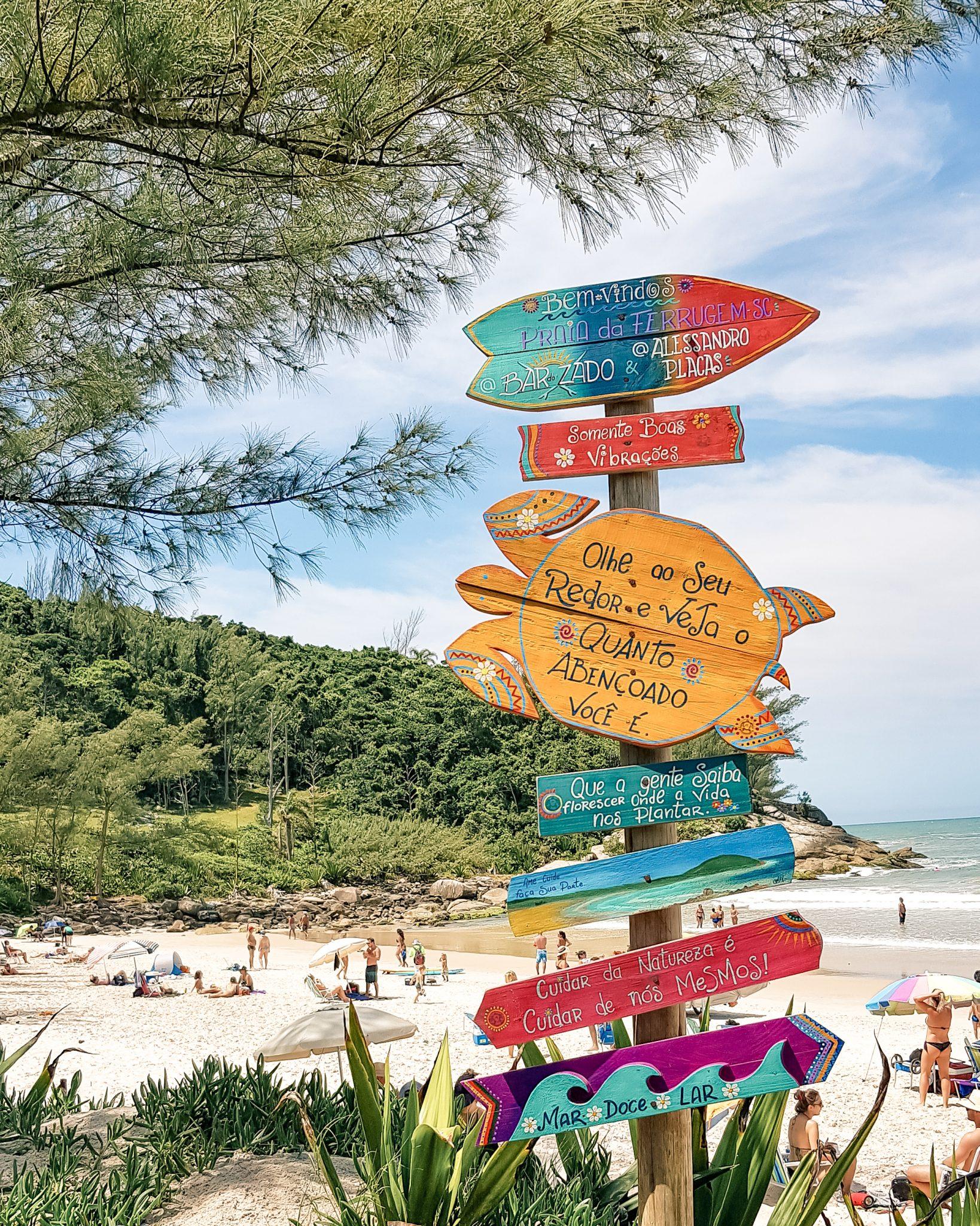Melhores Praias de Santa Catarina / Bar do Zado, Praia da Ferrugem, Garopaba