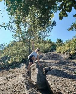 Trilha do Alto Mourão / Escalaminhada no final da trilha