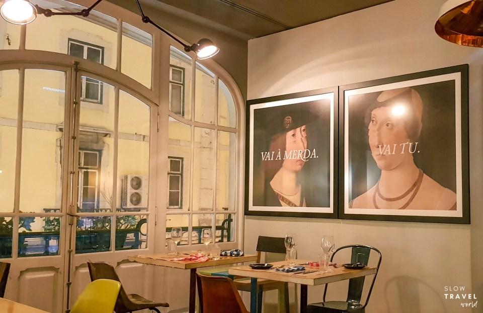 Viajante Responsável / Restaurante Local em Lisboa