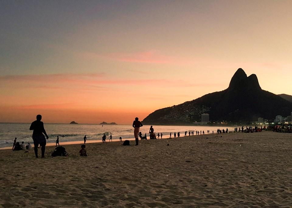 Roteiro Rio de Janeiro / Pôr-do-sol no Arpoador