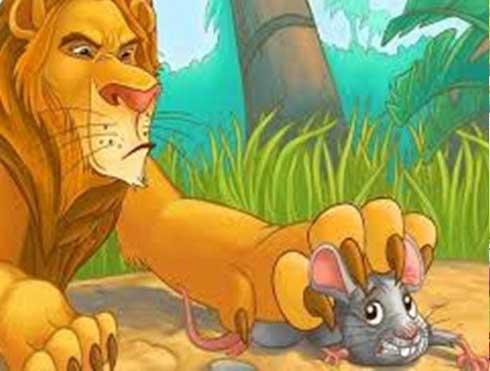 Truyện cho bé 1 tuổi số 5: Sư Tử Và Chuột Nhắt
