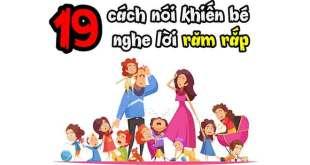 19 Cách Dạy Con Nghe Lời