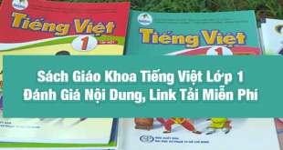 Sách Tiếng Việt Lớp 1 - Đánh Giá Nội Dung, Link File PDF và Địa Chỉ Mua
